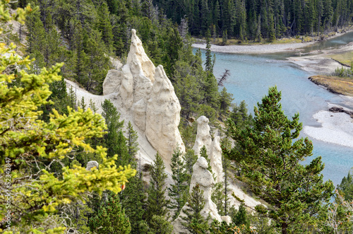 The Hoodoos in Banff National Park