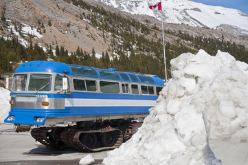 Columbia icefield, Snowmobil, Gletscherbus