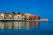 Panorama of Chania, Crete, Greece