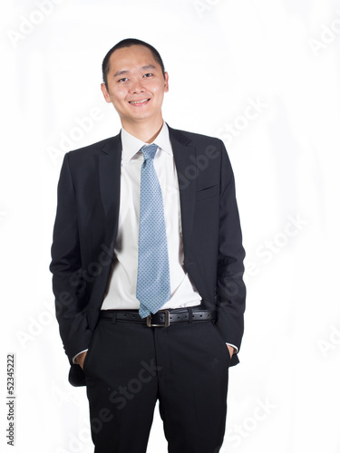 young executive portrait