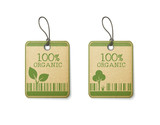 Set of two eco labels