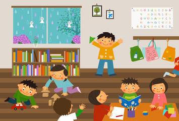 保育園-室内遊び