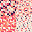 retro seamless abstract pattern
