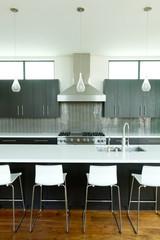 Modern Kitchen Centered