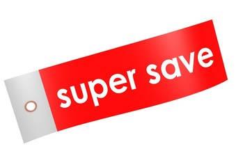 Super save label