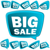 Big Sale tags.   EPS8