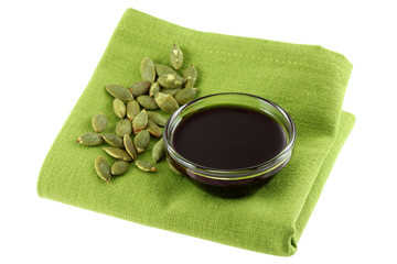 Pumpkin Seed Oil and some Roasted Pumpkin Seeds