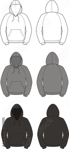 Vector illustration of smock