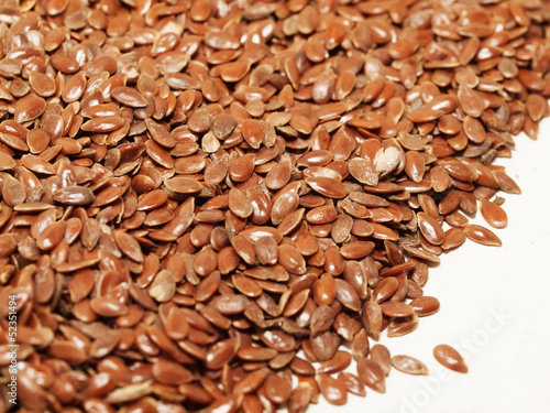 flax seeds background. food for human and horses