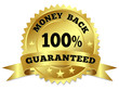 Money Back Guaranteed Gold Badge - 52353227