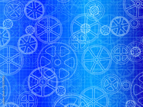 Gear Wheels Blueprint