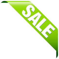 "Banner ""Sale"" Green"
