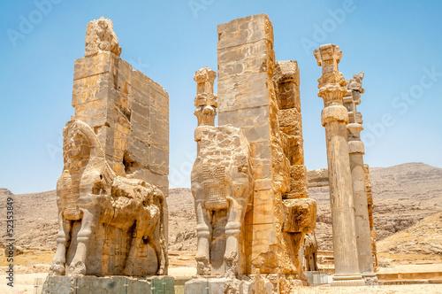 Fotobehang Midden Oosten Persepolis Gate