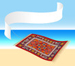 Magic Carpet on Beach ( Fliegender Teppich am Strand )