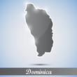 shiny icon in form of Dominica