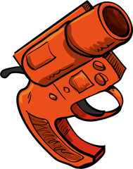 Illustration of flare gun