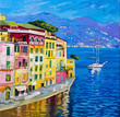 Quadro Beautiful view from Portofino.