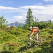 Downhill im Gebirge