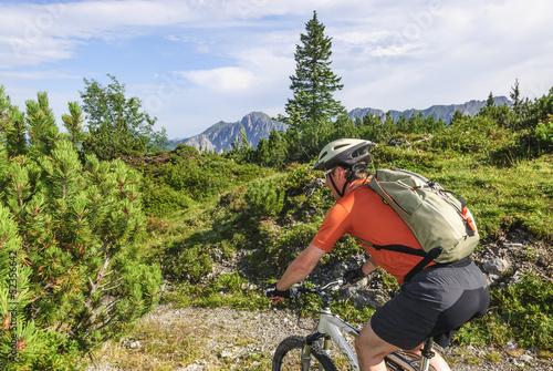 Radtour in den Alpen