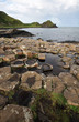 Giant's Causeway stones and landscape