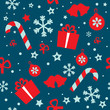 Seamless vector pattern Christmas