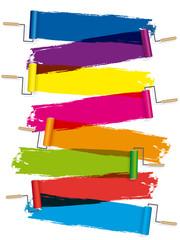 Rouleaux de peinture x8