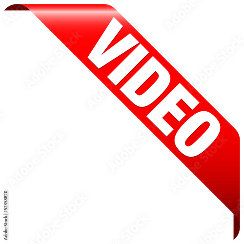 """Banner """"Video"""" Red"""