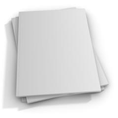 Blank Magazine Covers