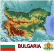 Bulgaria Europe emblem map symbol administrative divisions