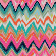 artistic vector ikat seamless background