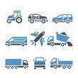 Transport Icons - A set of twelfth