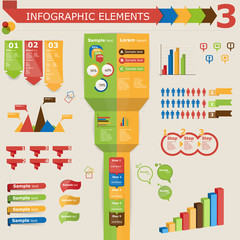 Infographic elements, icon set 3
