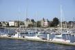 canvas print picture - Hafen von Lorient, Bretagne