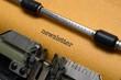 Newsletter on typewriter