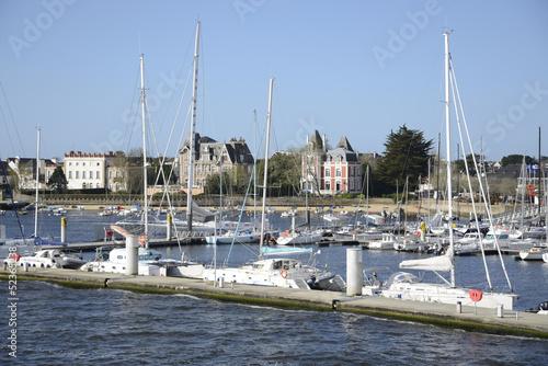 canvas print picture Hafen von Lorient, Bretagne