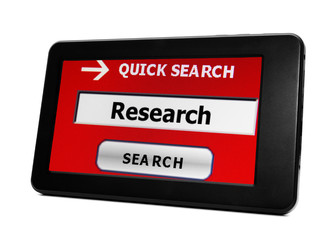 Search for  research