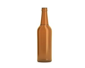 Flasche Bier braun