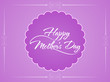 Beautiful background design for mother's day.