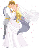 Wedding royal couple