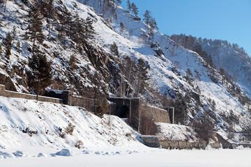 Old tunnel, Circum Baikal railway, Siberia