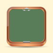 Chalkboard vector icon