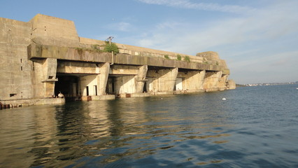 Base sous-marine de Keroman à Lorient (Bretagne)