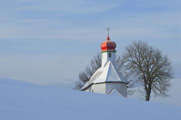 Kapelle in Waltrams- Allgäu