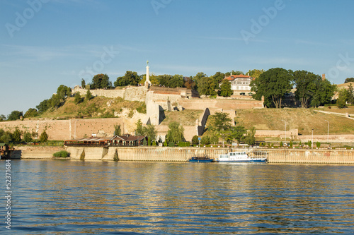 fortress Kalemegdan in center of Belgrade, Serbia