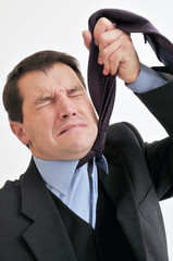 Stressed Out Businessman
