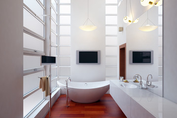 badezimmer - luxury bathroom with spa