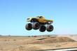 Leinwandbild Motiv Monster truck