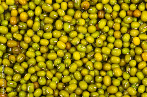 close up of mung bean background