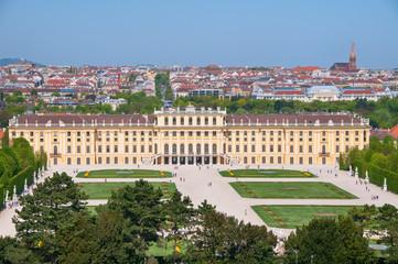 Castle Schönbrunn (Schonbrunn) in Vienna (Austria)