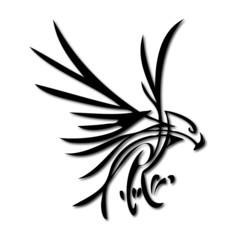 Adler Abstrakt Vektor Silhouette